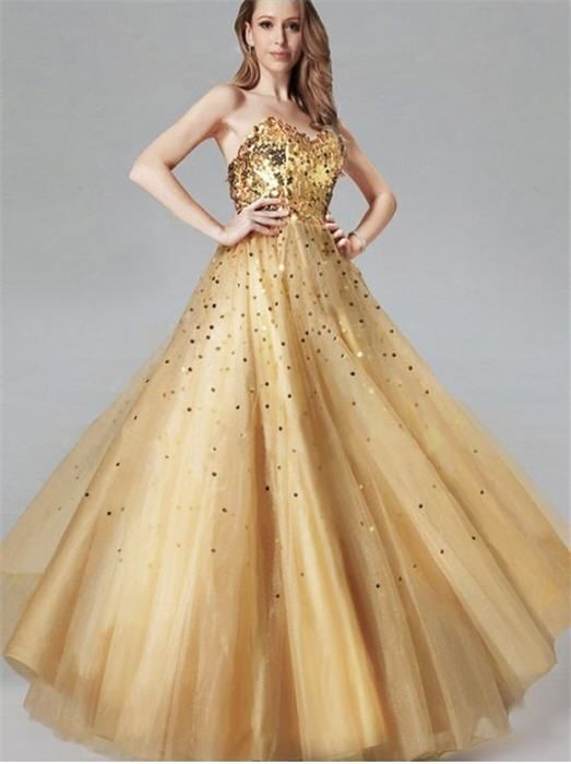 29 best images about Gold prom Dresses on Pinterest | Prom dresses ...