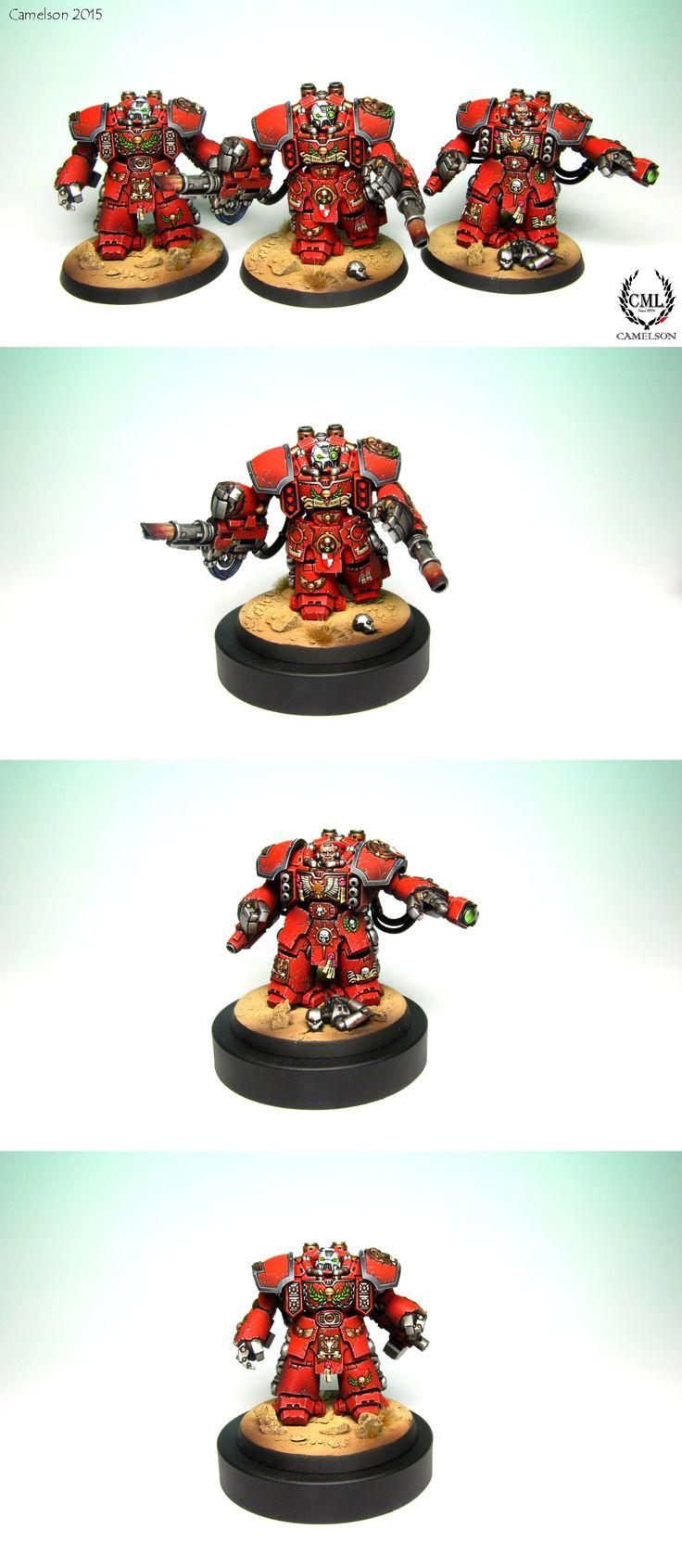 Blood Angels Centurion Devastator Squad