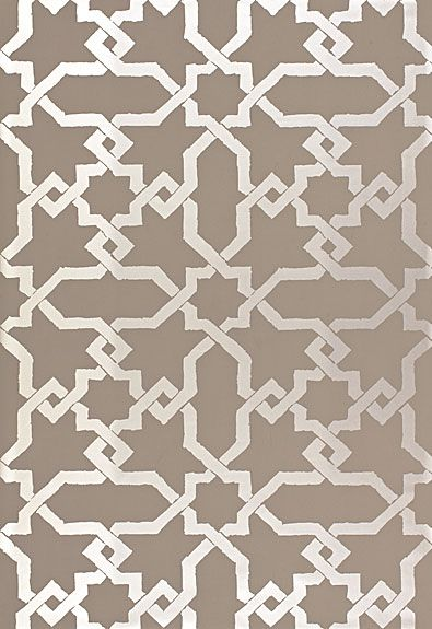 Cordoba in Taupe / Silver, 5005922.  http://www.fschumacher.com/search/ProductDetail.aspx?sku=5005922 #Schumacher