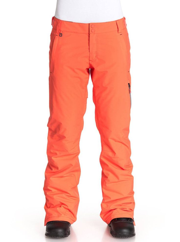 In warmer sunny conditions, the Roxy Rushmore 2L GORE-TEX pants will keep your legs at the perfect temperature - not too hot nor cold. While the jacket maintains your internal climate it also keeps you looking good on the outside. Pick up the jacket and pant at Roxy.