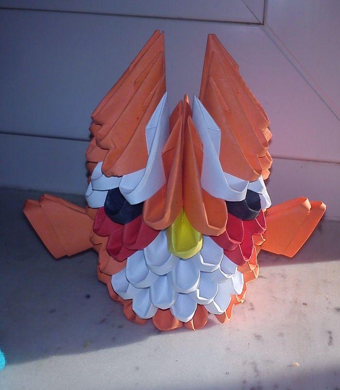 3D Origami Owl / Sova  http://jsmekreativni.blogspot.cz/