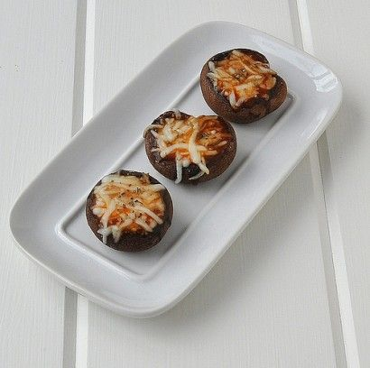Baby Bella Pizza Bites | Can't wait to try these!