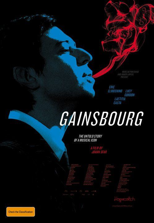"Serge Gainsbourg biopic ""Gainsbourg: Vie Heroique"" directed by Joann Sfar"