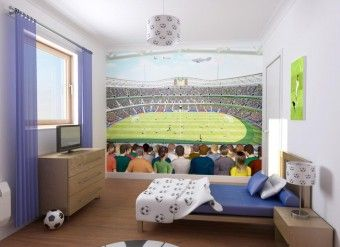 3D Tapeta Fotbal
