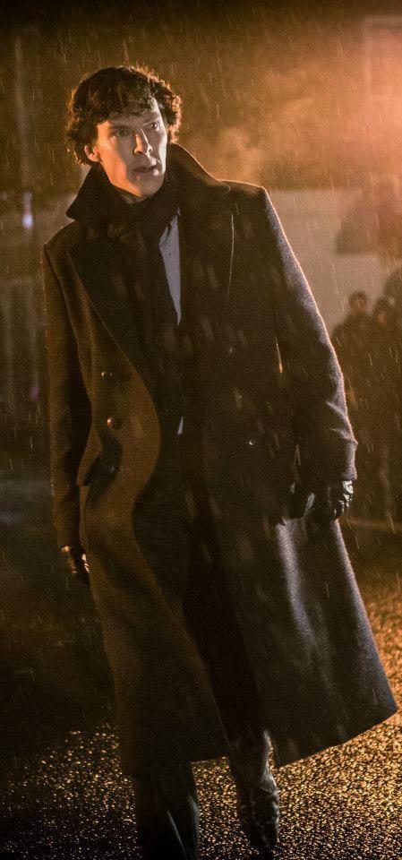 NEW #Sherlock series 3 The Empty Hearse promo pic