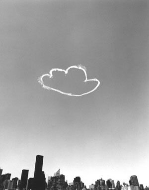 This image was of a cloud that Vik had made.