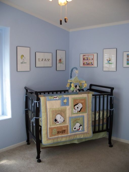 Little Boys Snoopy/Peanuts Nursery, My husband especially loved the Peanuts as a child. We worked on this nursery together and now look forw...