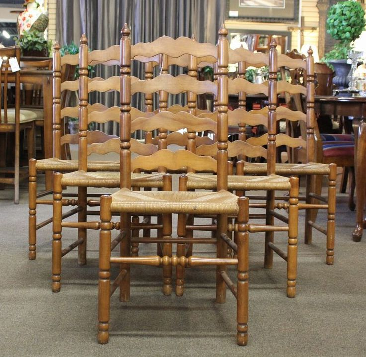 Superb Tell City Chair Set~still Have These Chairs From