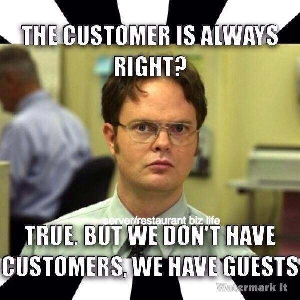 116 Best Images About Restaurant Humor/hostess Problems On