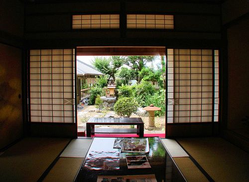 Traditional Japanese House | More glimpses of unfamiliar Japan: Traditional japanese house