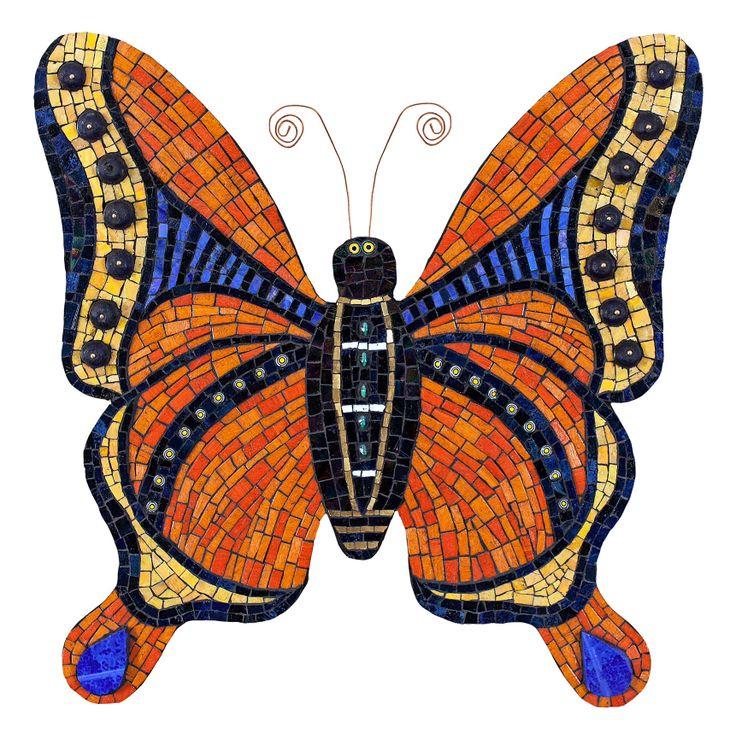 Mosaic Butterfly  mooi alleen vind ik het lijfje iets te breed