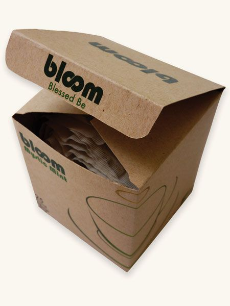 Future Friendly Design: Bloom - eco friendly tea box