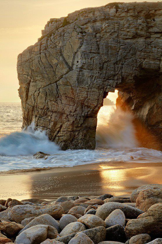 Peninsula of Quiberon, Brittany, France