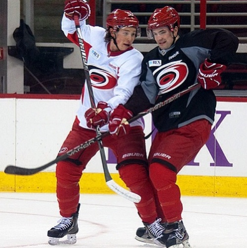 Jeff Skinner and Ryan Murphy
