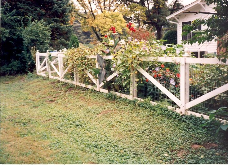 The 19 best images about criss cross fence on pinterest for Custom garden designs