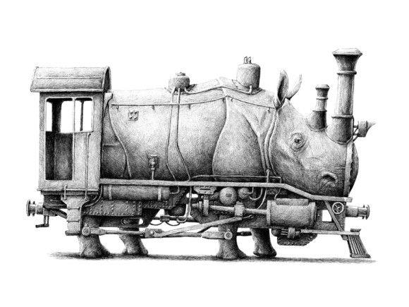 レドマー・フックストラ > サイ+機関車