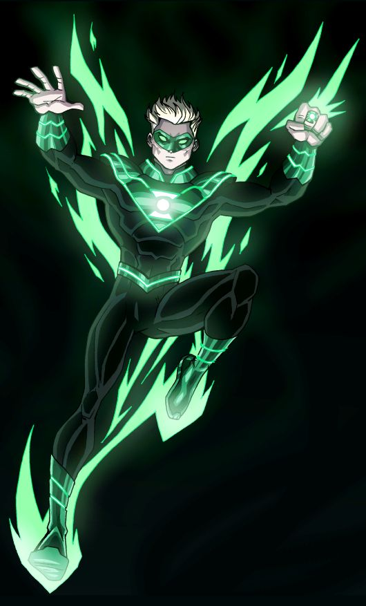 Green Lantern Alan Scott - Earth 2: The New 52 by by ~LucianoVecchio @deviantART