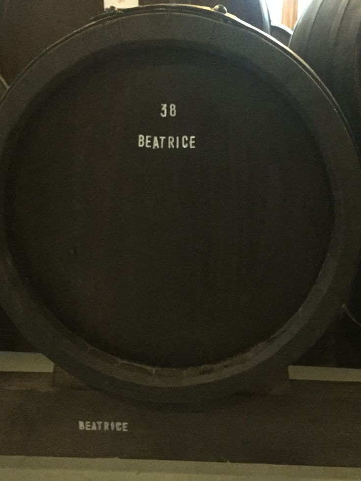 Beatrice barrel