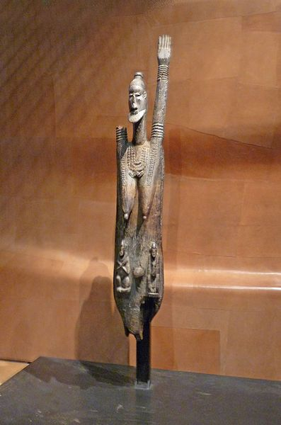 Rare Nommo Ancestor Plank Figure - DOGON - Mali