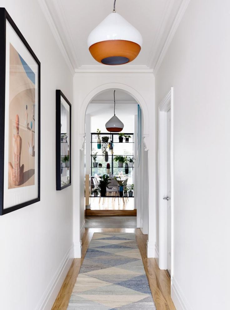 Sandringham Residence entry hallway by Doherty Design Studio. Architect: Techne Architects. Photographer: Derek Swalwell.