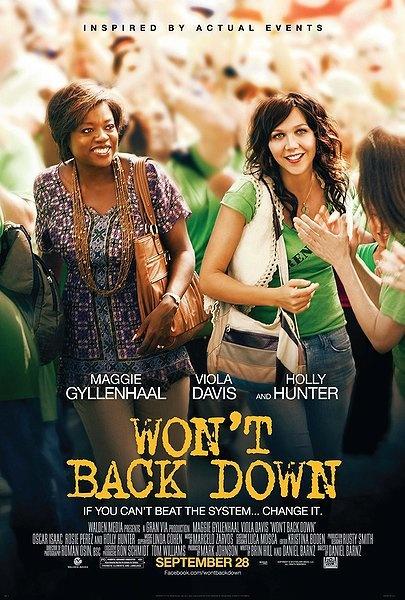 """Won't Back Down""-Amazing, Inspiring movie! I had chills!"