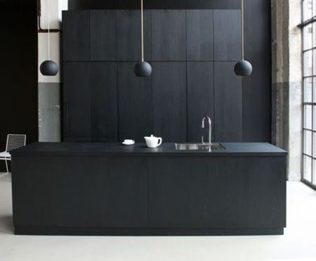 Matt Black minimalist kitchen  cph-square-minimalist-kitchen1.jpg 450×371 pixels