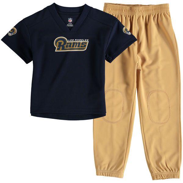 Los Angeles Rams Toddler Fan Gear Lil' Field Pant Set - Navy/Gold - $34.99