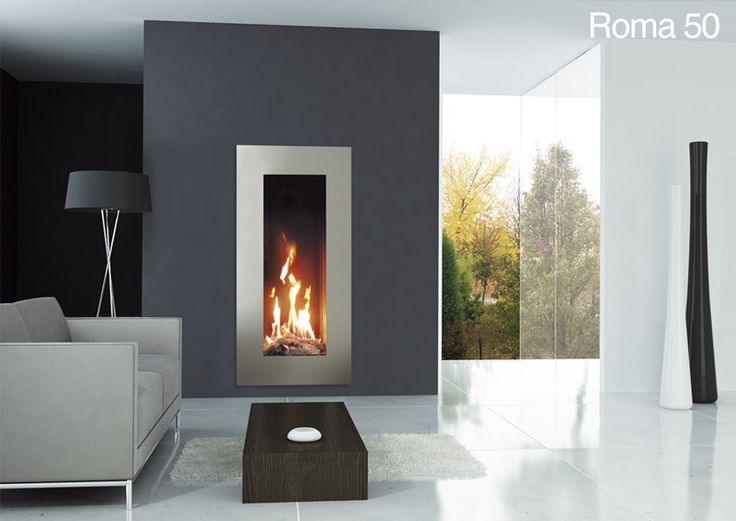 Roma gas fire, an amazing high flame view. It creates an ...