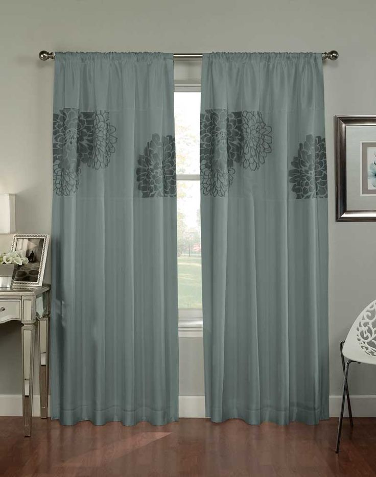 Room Design: Modern Peacock Feather Curtain With White Design To Close Window At Your Bedroom Or Window At Living Room Each Using Straight Black Track Adding Flower Vase There Make Your Home Be Elegant from Peacock Curtains, Work of Arts