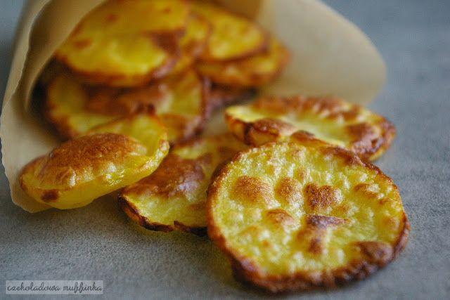 Czekoladowa muffinka: Domowe chipsy z piekarnika