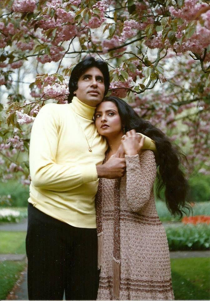 Amitabh Bachchan & Rekha in SILSILA