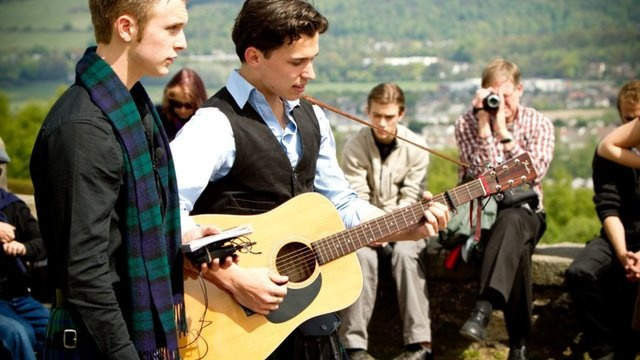 The Braes O' Killiecrankie - Sam Turley and Josh Phillips by Joshua Titus Phillips. Filmed on location in Scotland at St. Andrews and Stirling Castle.