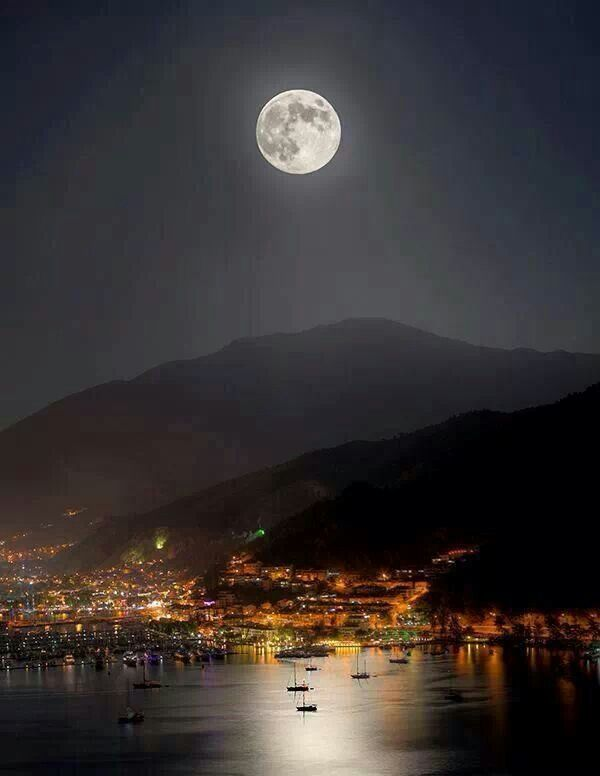 Marmaris by night, Turkey
