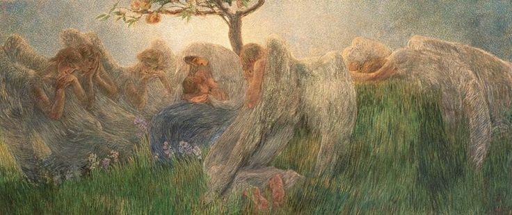 Segantini - Maternità in bassa