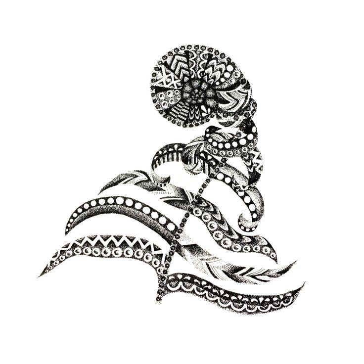 POINTILLISM fiddlehead fern print by StudioAmyLynn on Etsy https://www.etsy.com/listing/262729040/pointillism-fiddlehead-fern-print