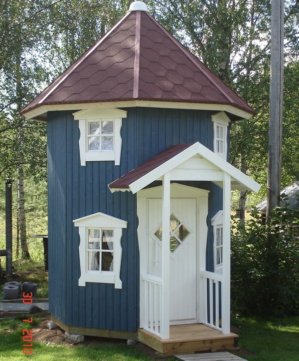 239 best images about whimsical playhouses on pinterest for Whimsical playhouse blueprints