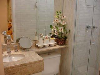 Nosso Apertamentinho: Banheiro