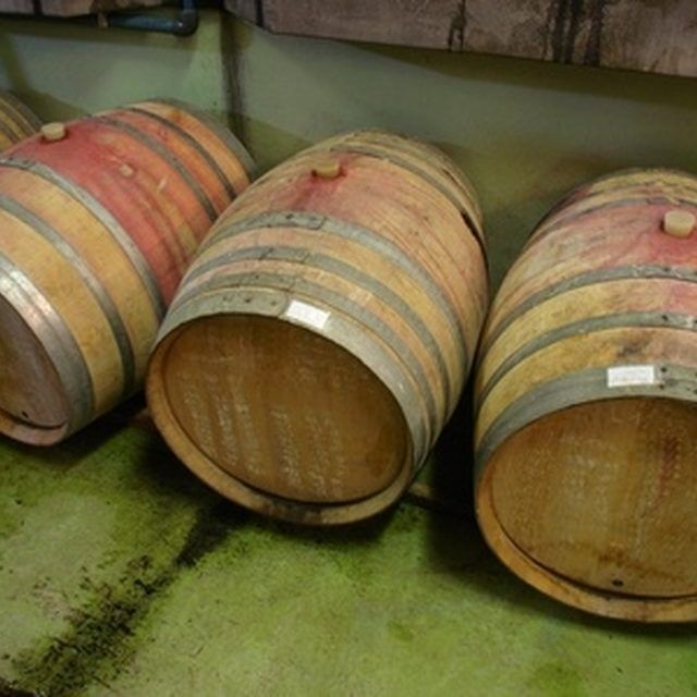 Wine barrels have uses even after they are no longer useful in making wine.