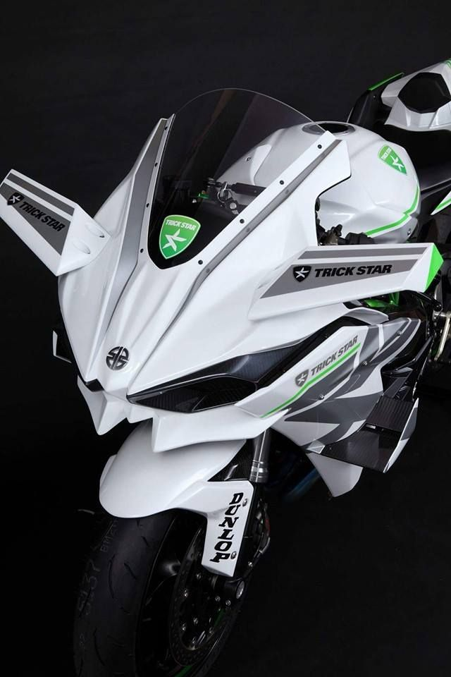 2016 Kawasaki Ninja H2R in White Livery Is the Queen of Supercharged Ice | automotive99.com