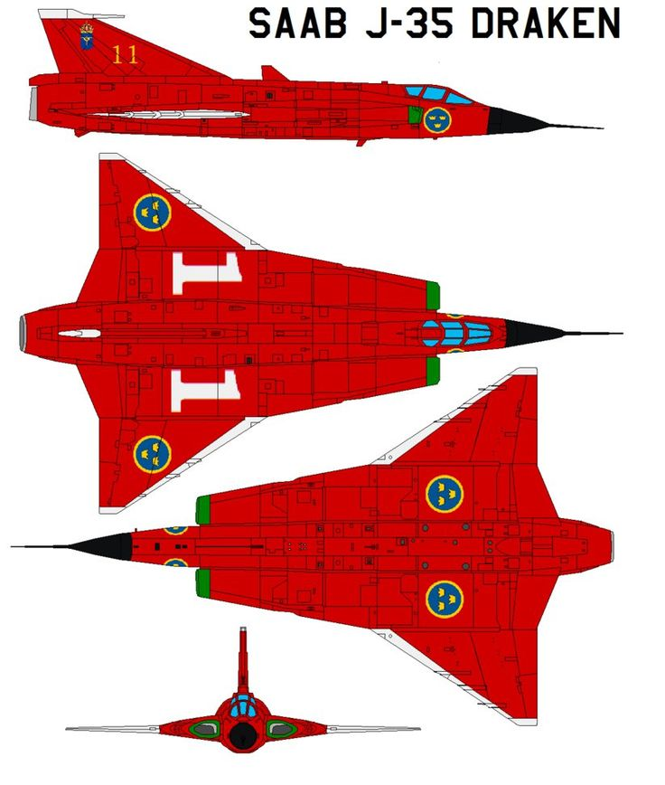 Saab j-35 Draken Saab 35 Draken Features Although not designed to be a dogfighter, the J 35 Draken proved to have good instantaneous turn capability and was a very capable fighter. It entered servi...