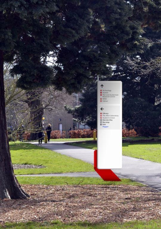 University of Reading wayfinding Joan Zalacain