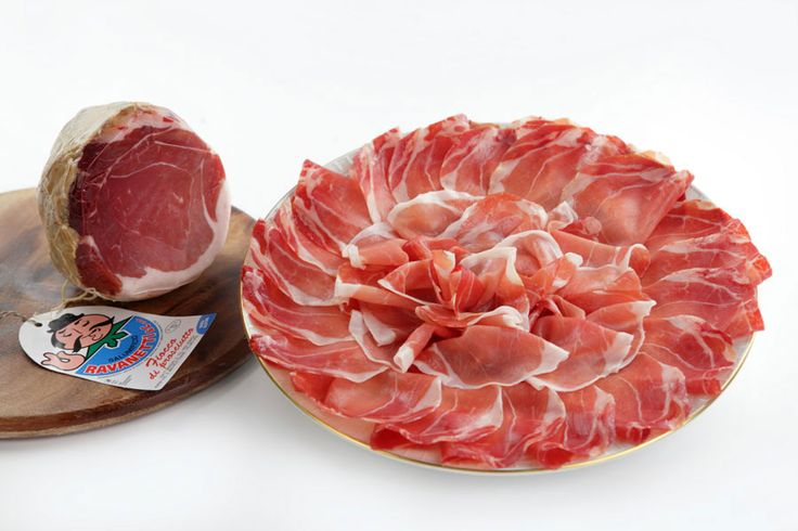Fiocchetto of Ham seasoned Ravanetti  #ParmaHam,#ParmaShop,#Food,#Shooping