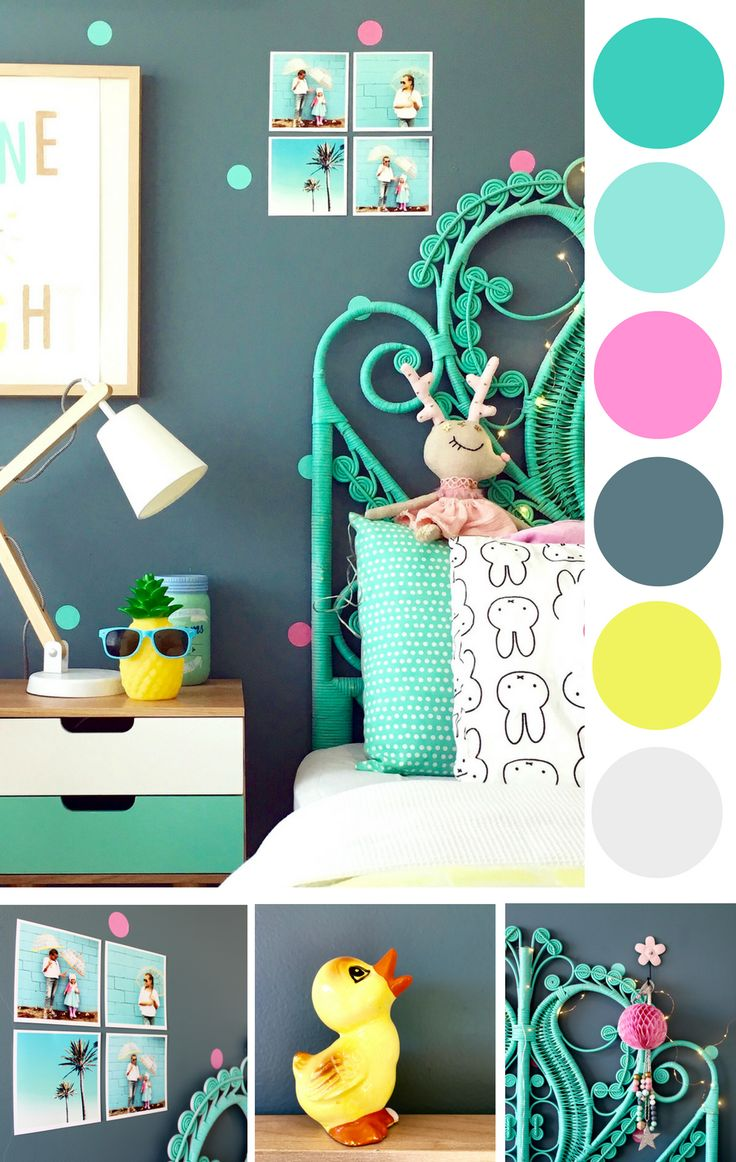 Colourful interiors www.fourcheekymonkeys.com
