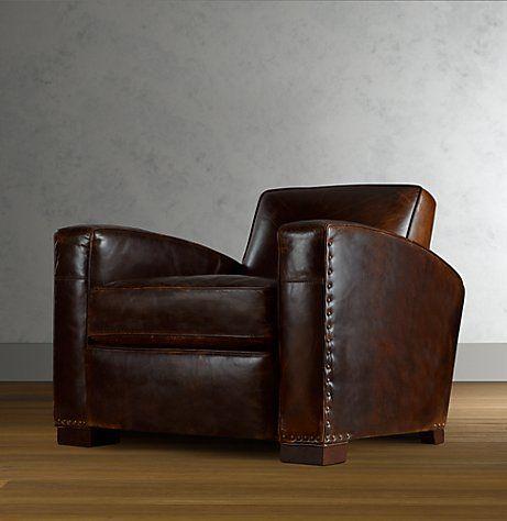 restoration hardware leather furniture, makes me smiLe!