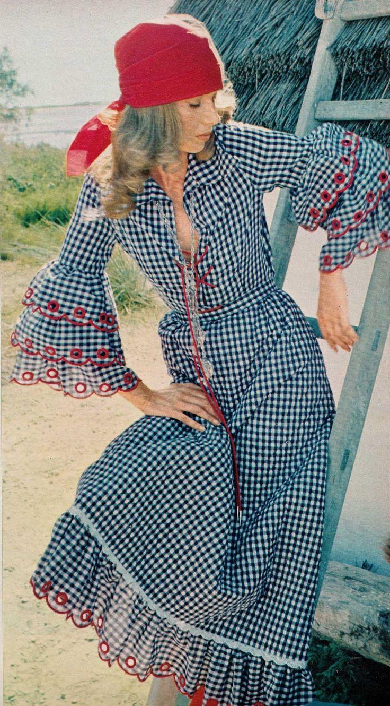 Krun, Elegance Magazine - 1972 Spring Summer, Photographed by Lionel Kazan