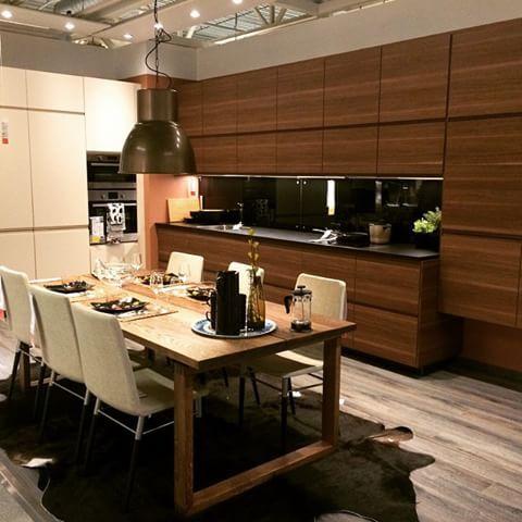 Cool New kitchen fronts at IKEA Voxtorp es in beige white and a dark walnut