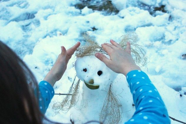 Pictures of Snowmen and Snow Women