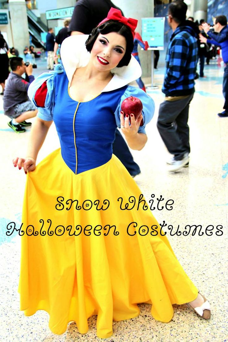 Snow White fans love Disney Snow White Halloween costumes for costume parties, dress-up play at home, trick-or-treating, or other costume events.