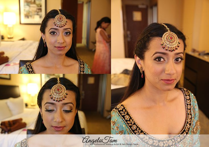 INDIAN WEDDING – SOUTH ASIAN BRIDE MAKEUP ARTIST | SHAHERVANO MAKEUP SESSION | ANGELA TAM >> INDIAN WEDDING MAKEUP AND HAIR TEAM
