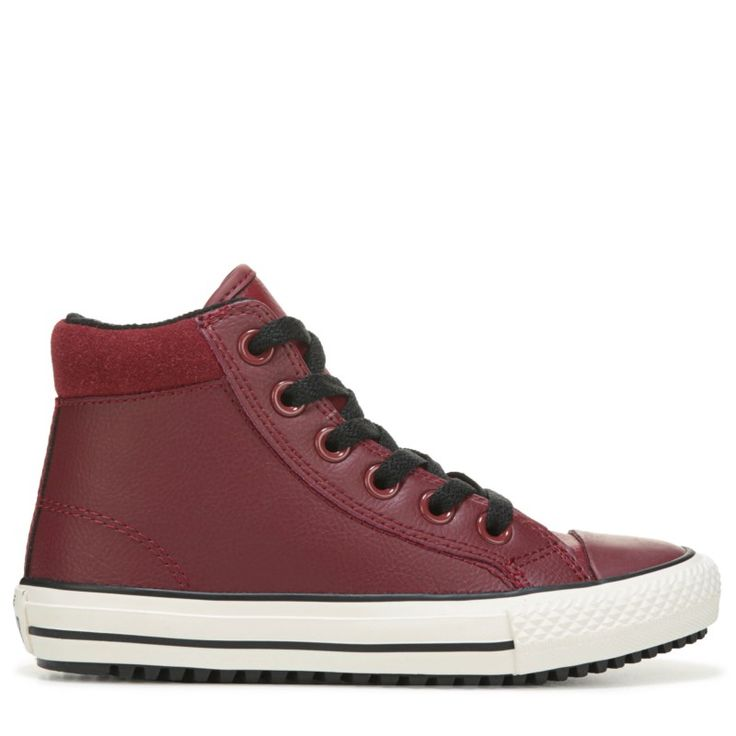 Converse Kids' Chuck Taylor All Star Sneaker Boots (Red Block/Black/Egre) - 12.5 M